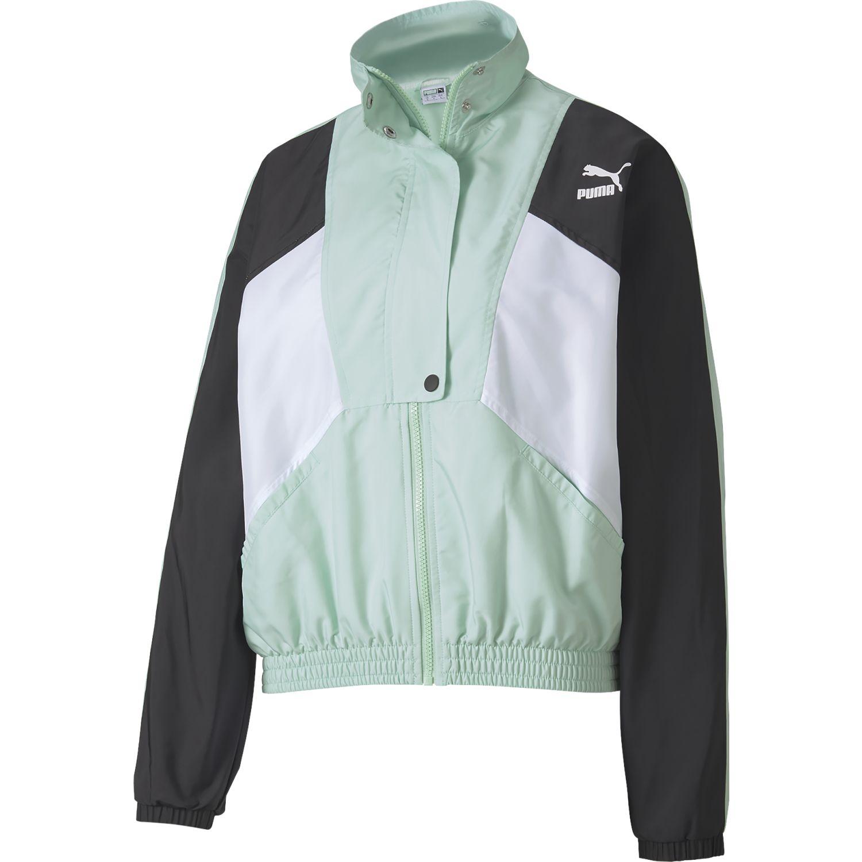 Puma tfs woven track jacket Verde / negro Casacas de Atletismo