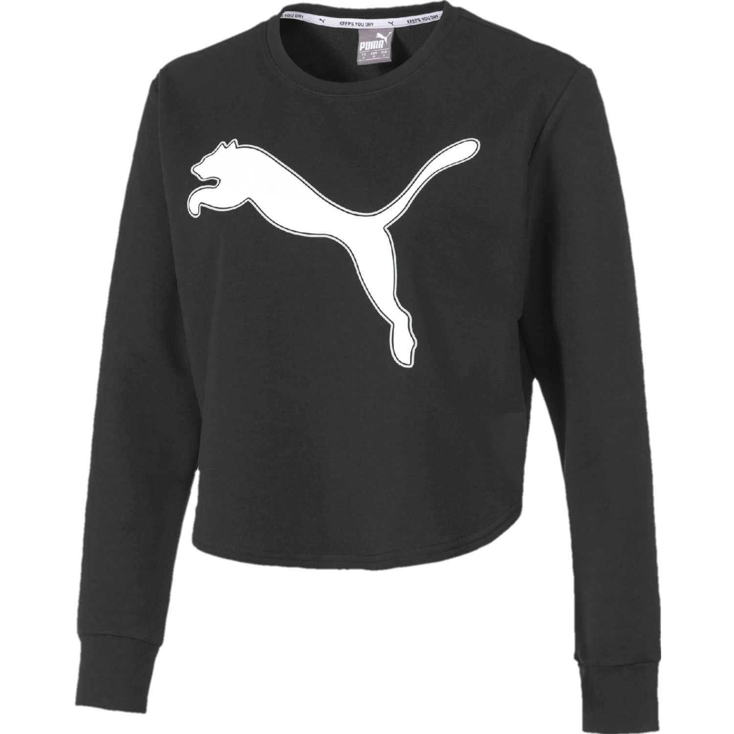 Puma modern sports crew sweat Negro / blanco Hoodies Deportivos