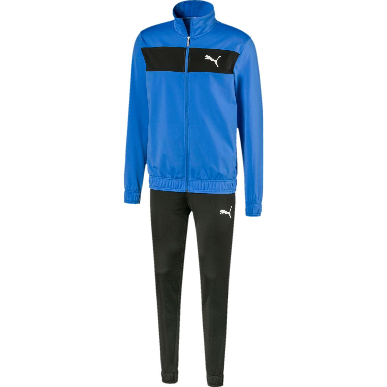Puma techstripe tricot suit cl Azulino / negro Buzos Deportivos