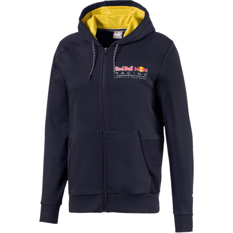 Puma rbr hooded sweat jacket Azul / amarillo Casacas de Atletismo