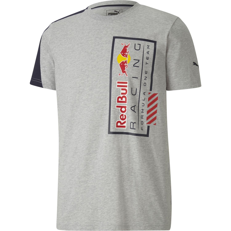 Puma rbr logo tee+ Gris / azul Camisetas y Polos Deportivos