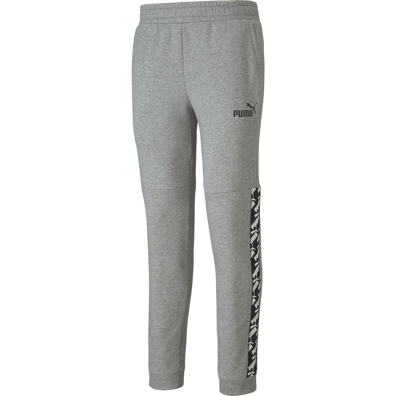Puma amplified pants Gris / negro Pantalones Deportivos