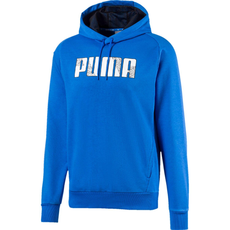 Puma active ka hoody Azul Hoodies Deportivos