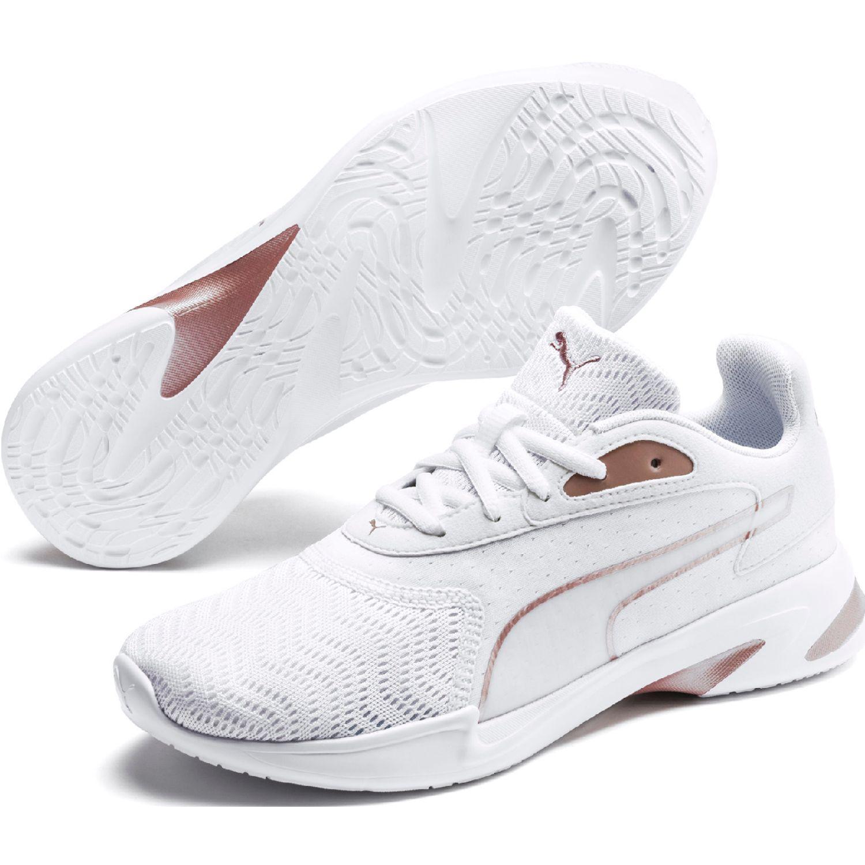 Puma jarometal wns Blanco / rosado Running en pista