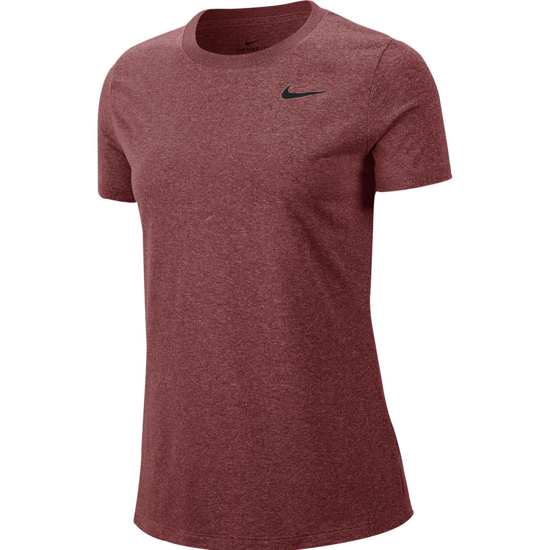 Nike W Nk Dry Leg Tee Crew Coral