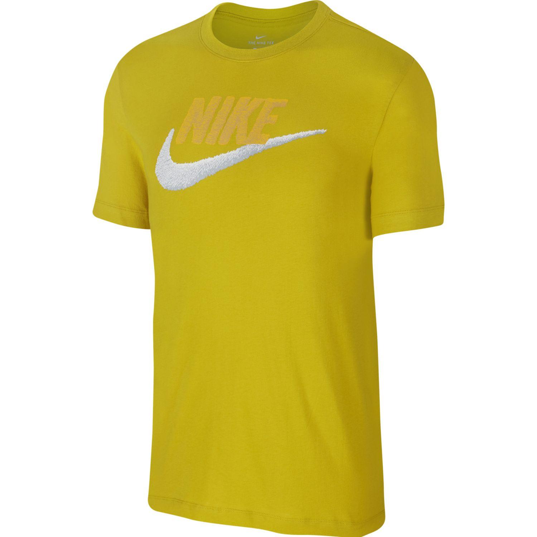 Nike M Nsw Tee Brand Mark Amarillo Polos