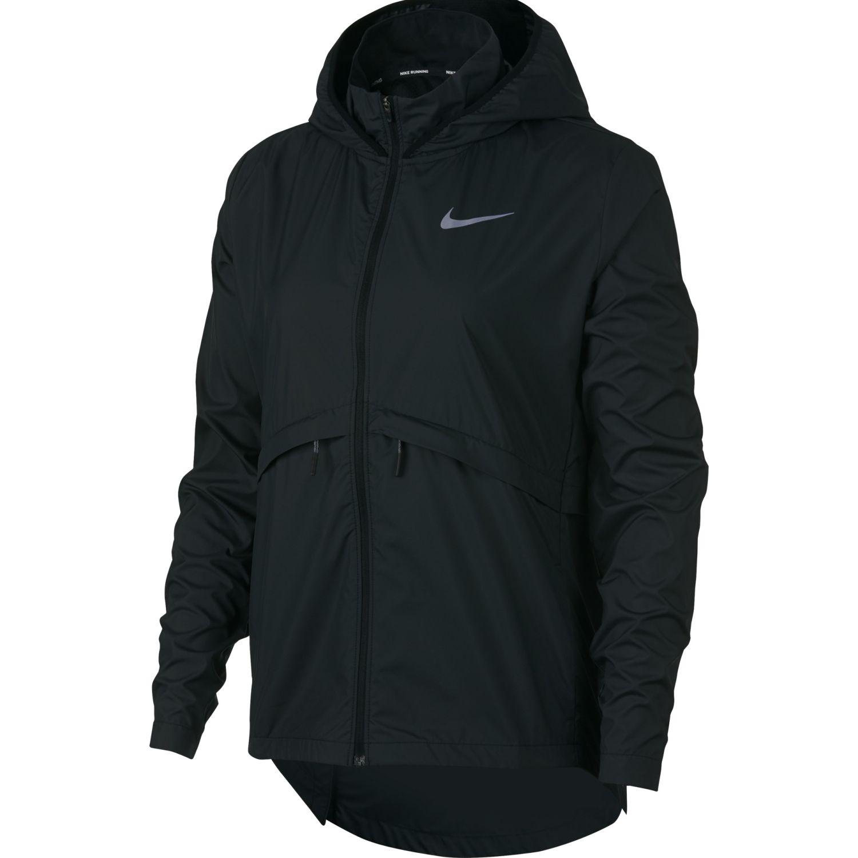 Nike W Nk Essntl Jkt Ssnl Negro Casacas deportivas