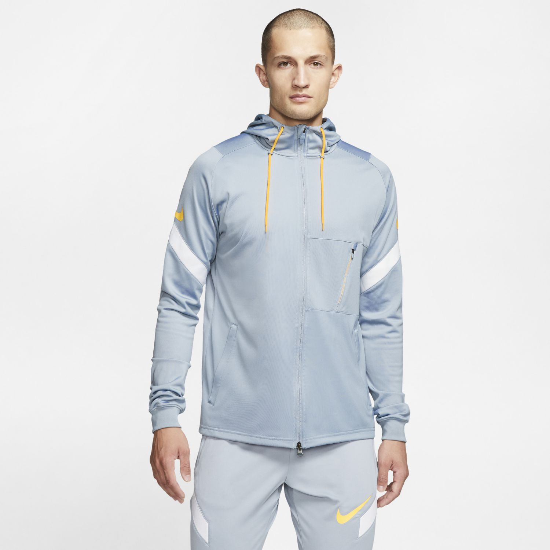 Nike M Nk Dry Strke Trk Jkt Hd K Ng Gris Casacas deportivas