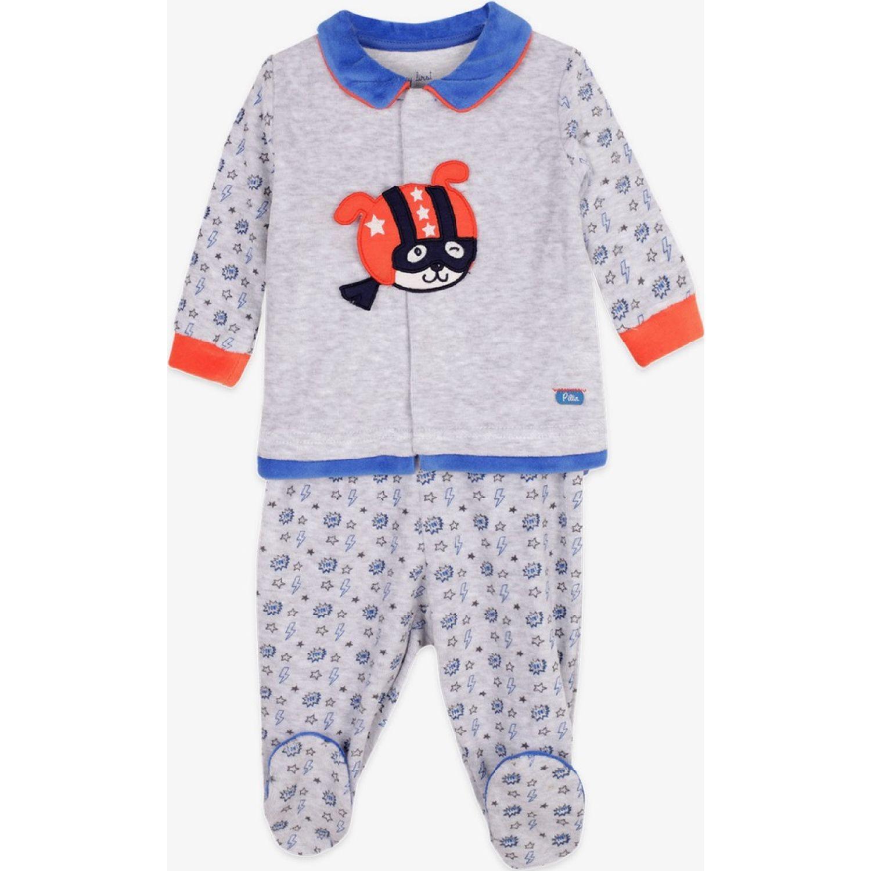 PILLIN Conjunto Plush Bebé Niño Gris Juegos de ajuar para bebé