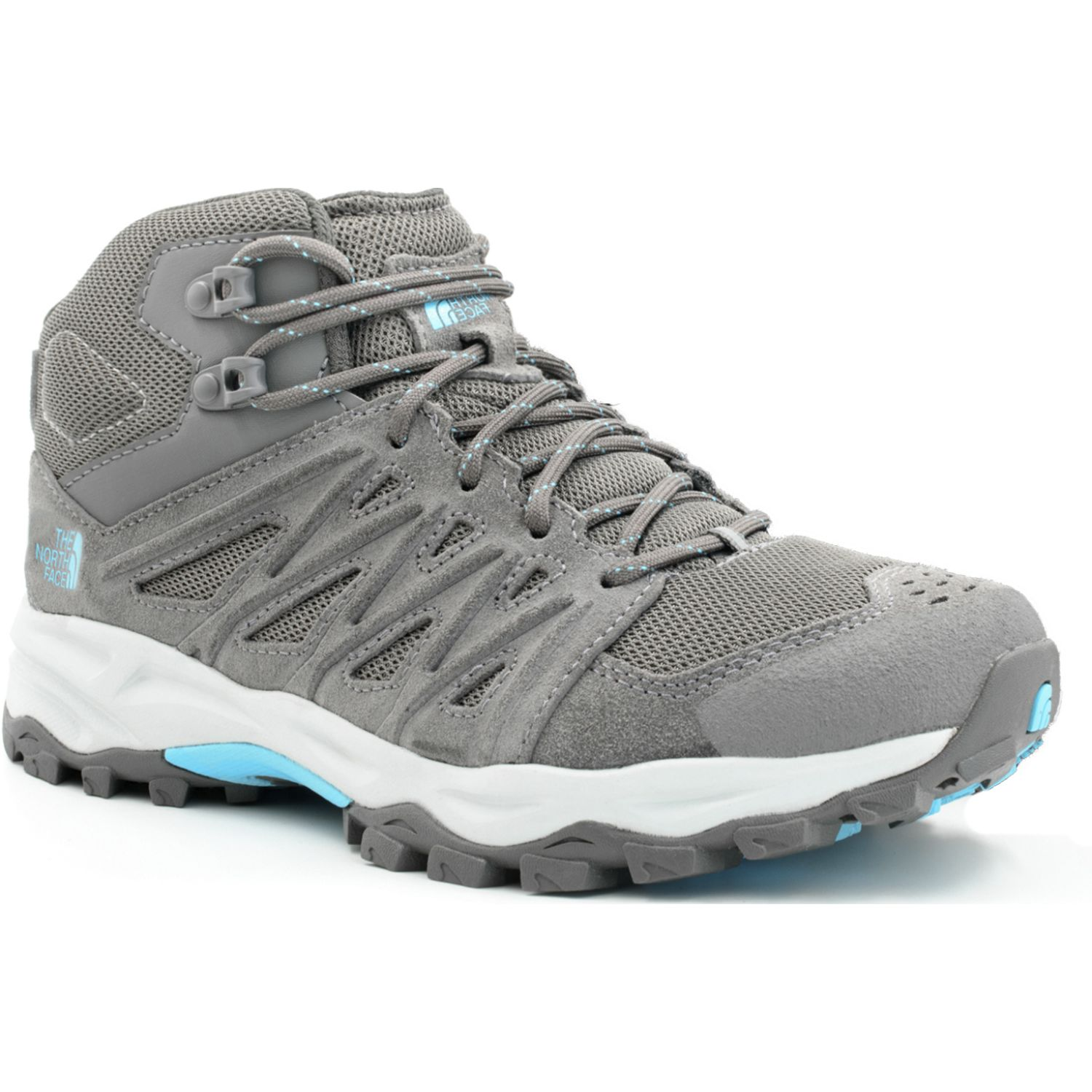 The North Face W Truckee Mid Gris Zapatos de senderismo