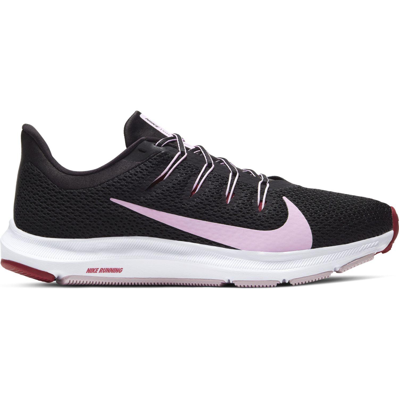 Nike Wmns Nike Quest 2 Negro / rosado Correr por carretera
