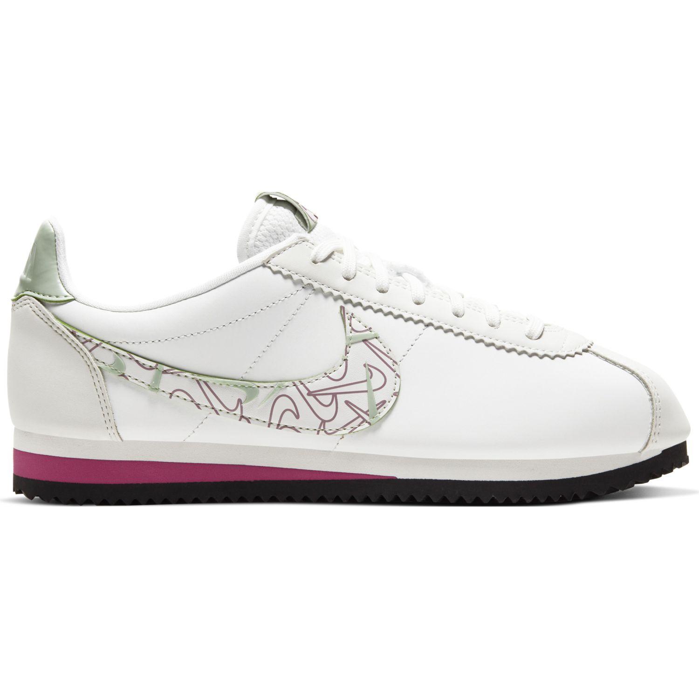 Ligero Sufijo ganso  Nike WMNS CLASSIC CORTEZ SE SP20 Blanco Walking | platanitos.com