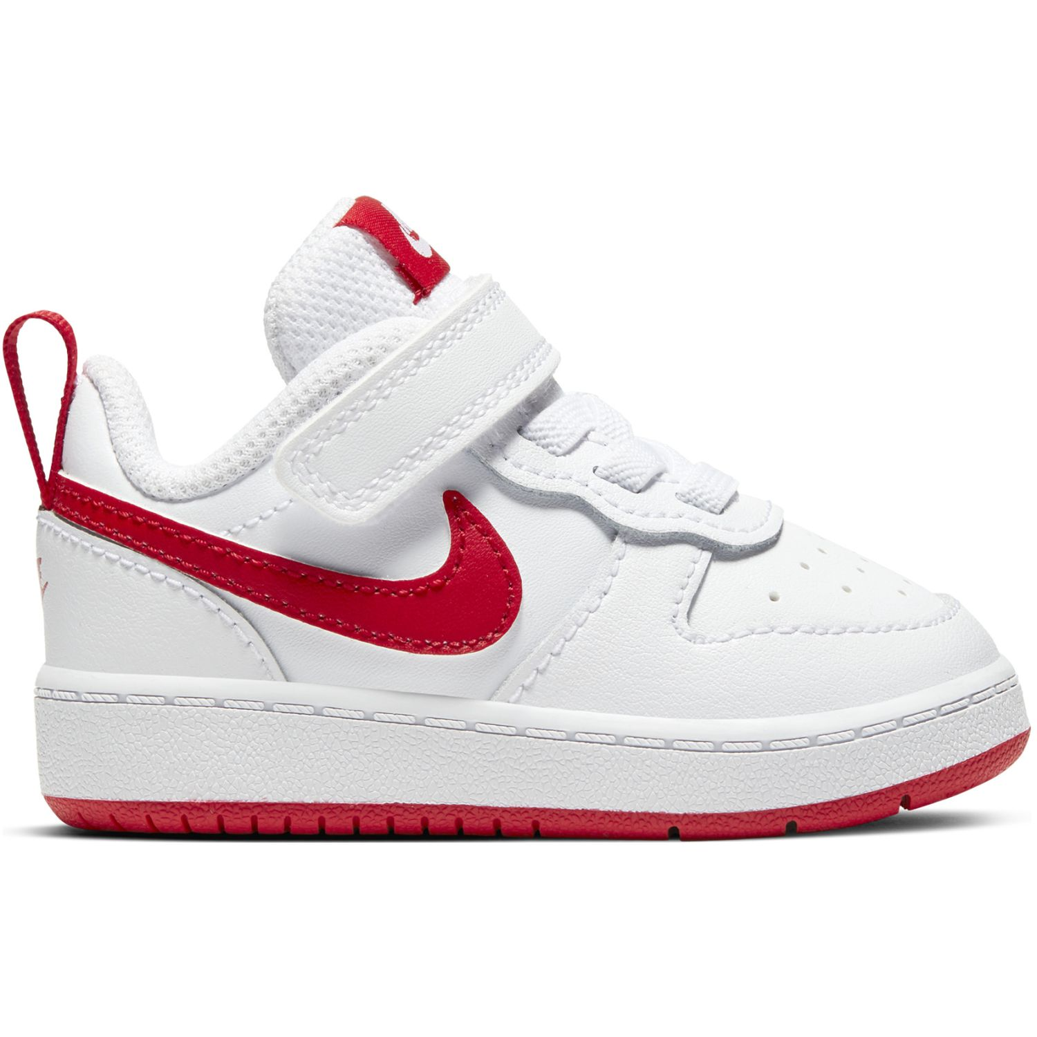 Nike Court Borough Low 2 Bt Blanco / rojo Walking