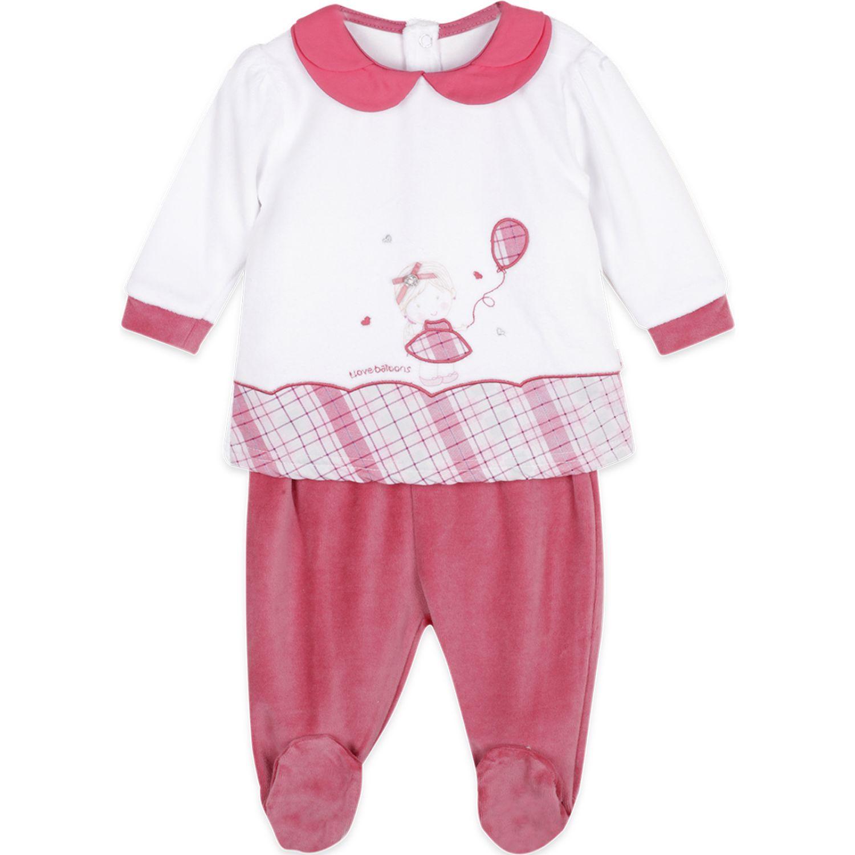 PILLIN Conjunto Plush Bebé Niña Rojo Juegos de Ajuar para Bebé