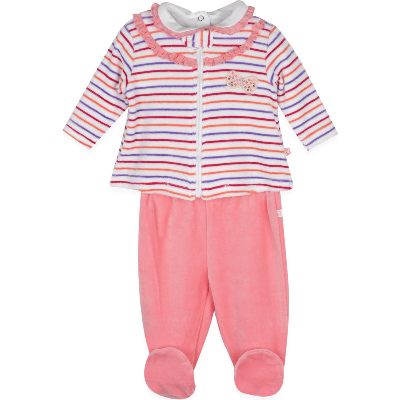 PILLIN Conjunto 3pcs Plush Bebé Niña Coral Juegos de Ajuar para Bebé