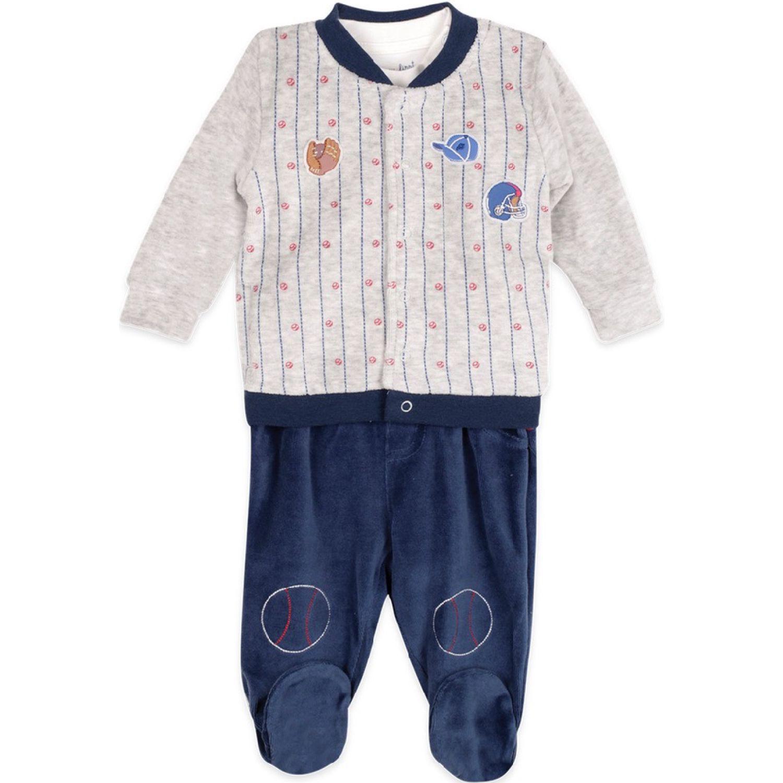 PILLIN Conjunto Plush Bebé Niño MELANGE Juegos de ajuar para bebé