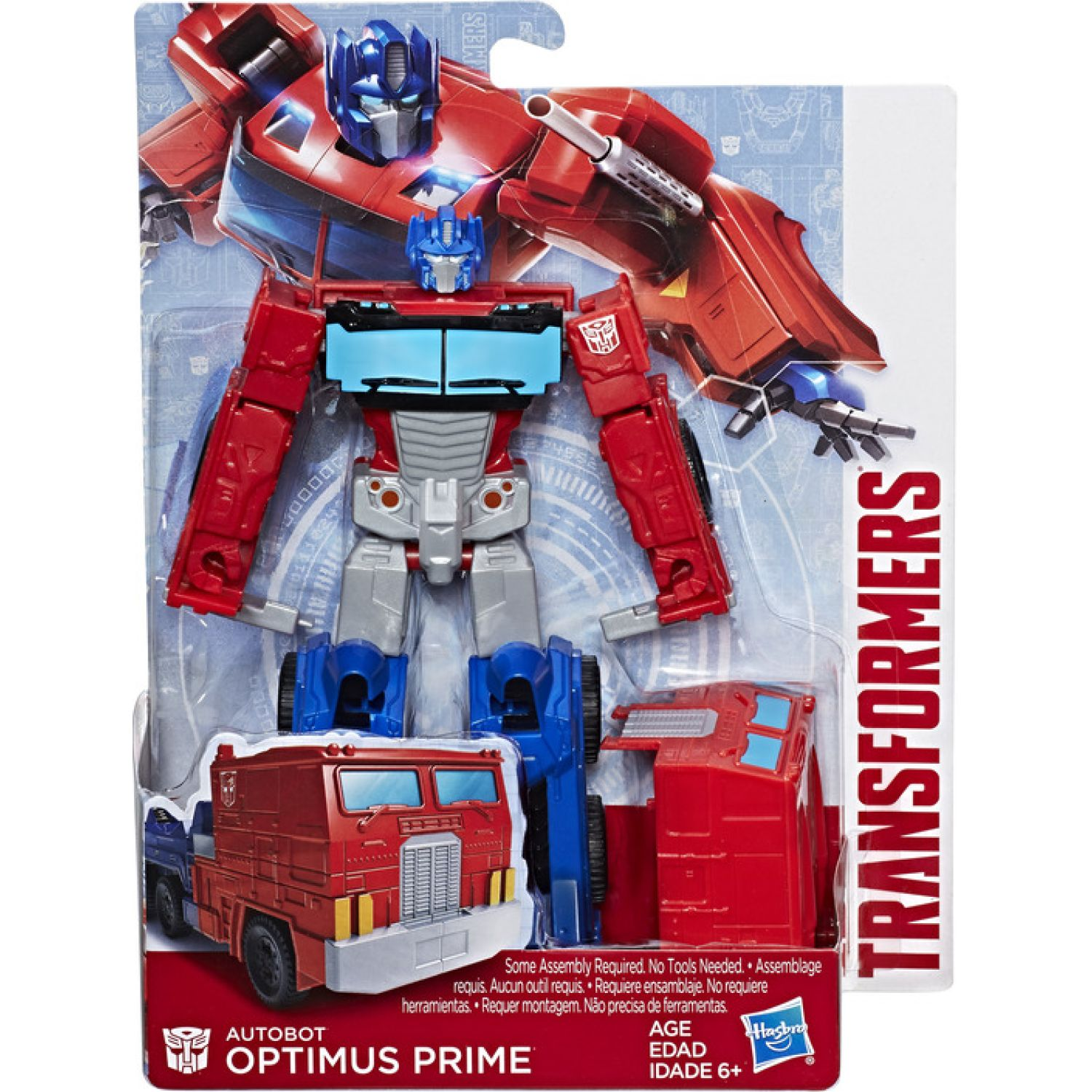 Transformers Tra Authentics Alpha Optimus Prime Varios Figuras de acción