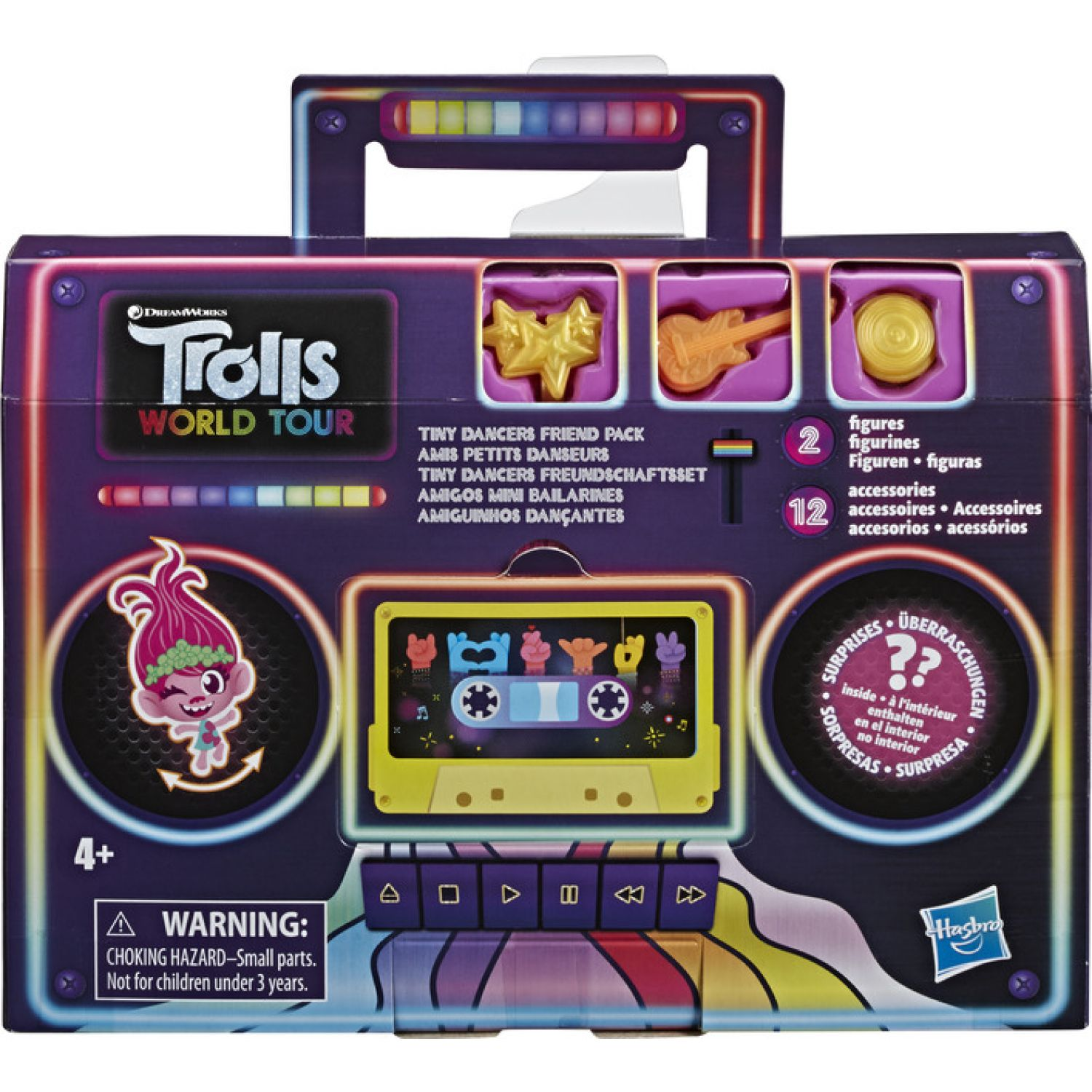 Trolls Trs Tiny Dancers Friend Pack Varios Muñecas