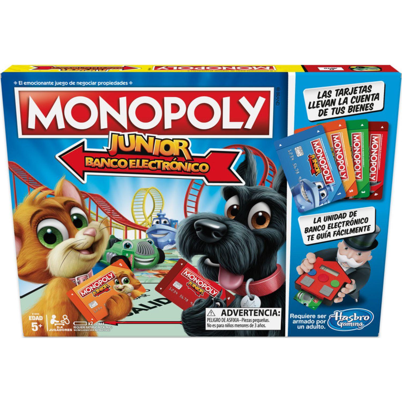 MONOPOLY Monopoly Junior Electronic Banking Varios Juegos de mesa