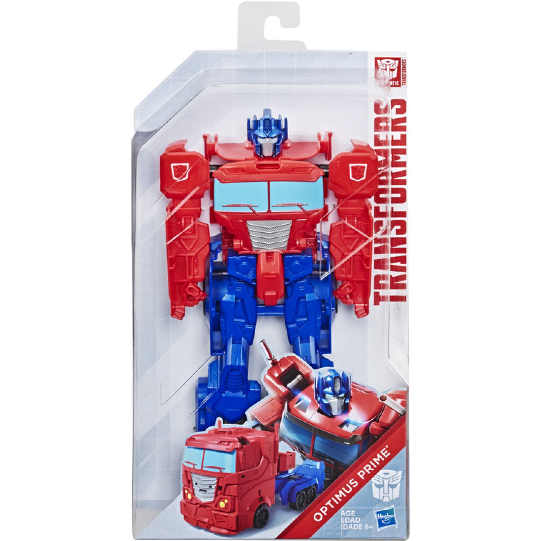 Transformers tra authentics titan changer optimus Varios Figuras de acción