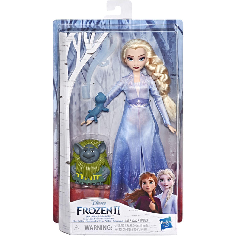 Frozen Frz 2 Fd Elsa Pabbie Salamander Varios Muñecas