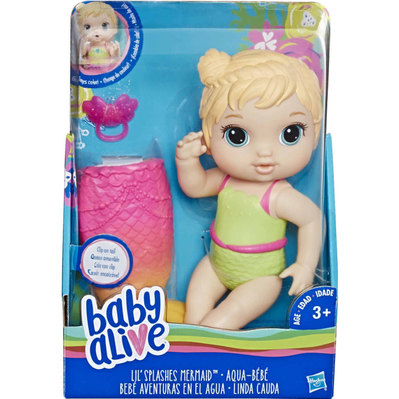 BABY ALIVE Ba Vc Mermaid Bld Hair Varios Muñecas