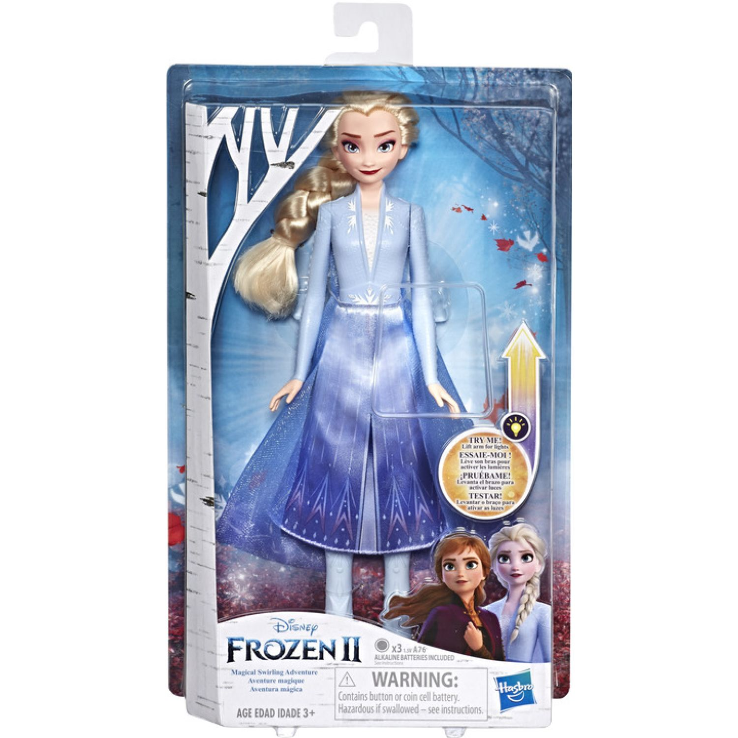 Frozen FRZ 2 MAGICAL SWIRLING ADVENTURE ELSA Varios muñecas
