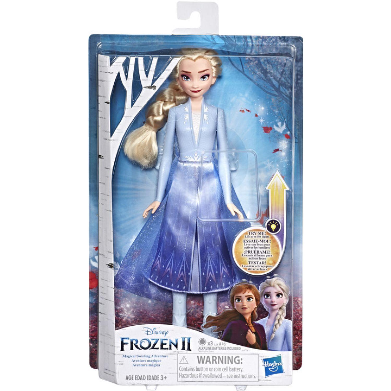 Frozen Frz 2 Magical Swirling Adventure Elsa Varios Muñecas