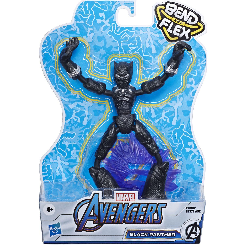 Avengers AVN BEND AND FLEX BLACK PANTHER Varios Figuras de acción