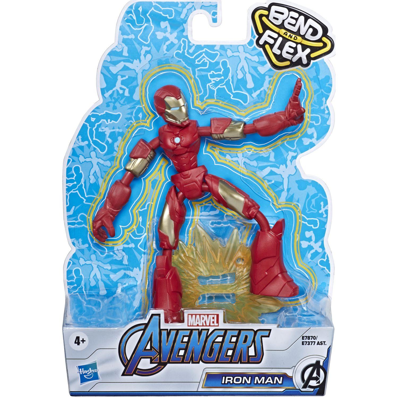 Avengers AVN BEND AND FLEX IRON MAN Varios Figuras de Acción
