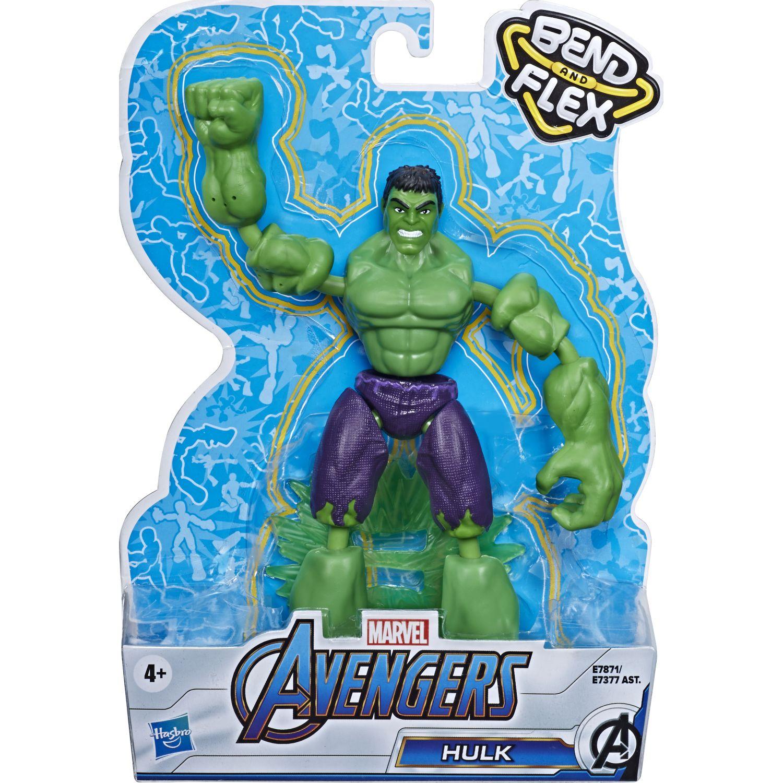 Avengers Avn Bend And Flex Hulk Varios Figuras de acción