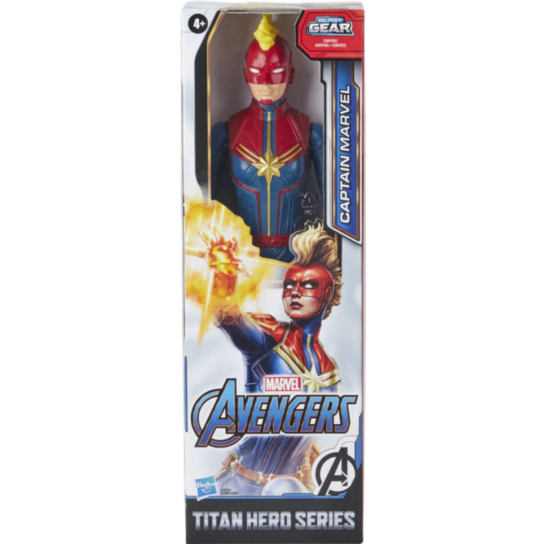 Avengers Avn Titan Hero Figure Captain Marvel Varios Figuras de acción
