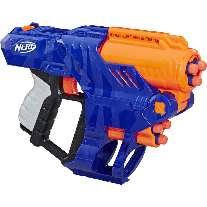 NERF Ner Elite Shellstrike Ds 6 Varios Pistolas de agua