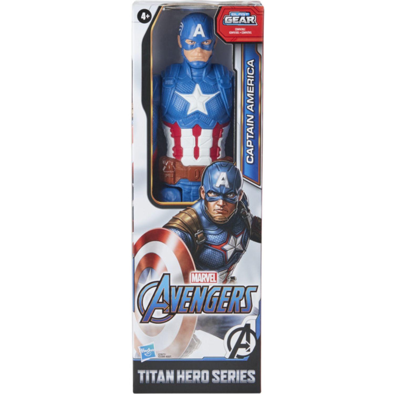 Avengers Avn Titan Hero Figure Captain America Varios Figuras de Acción