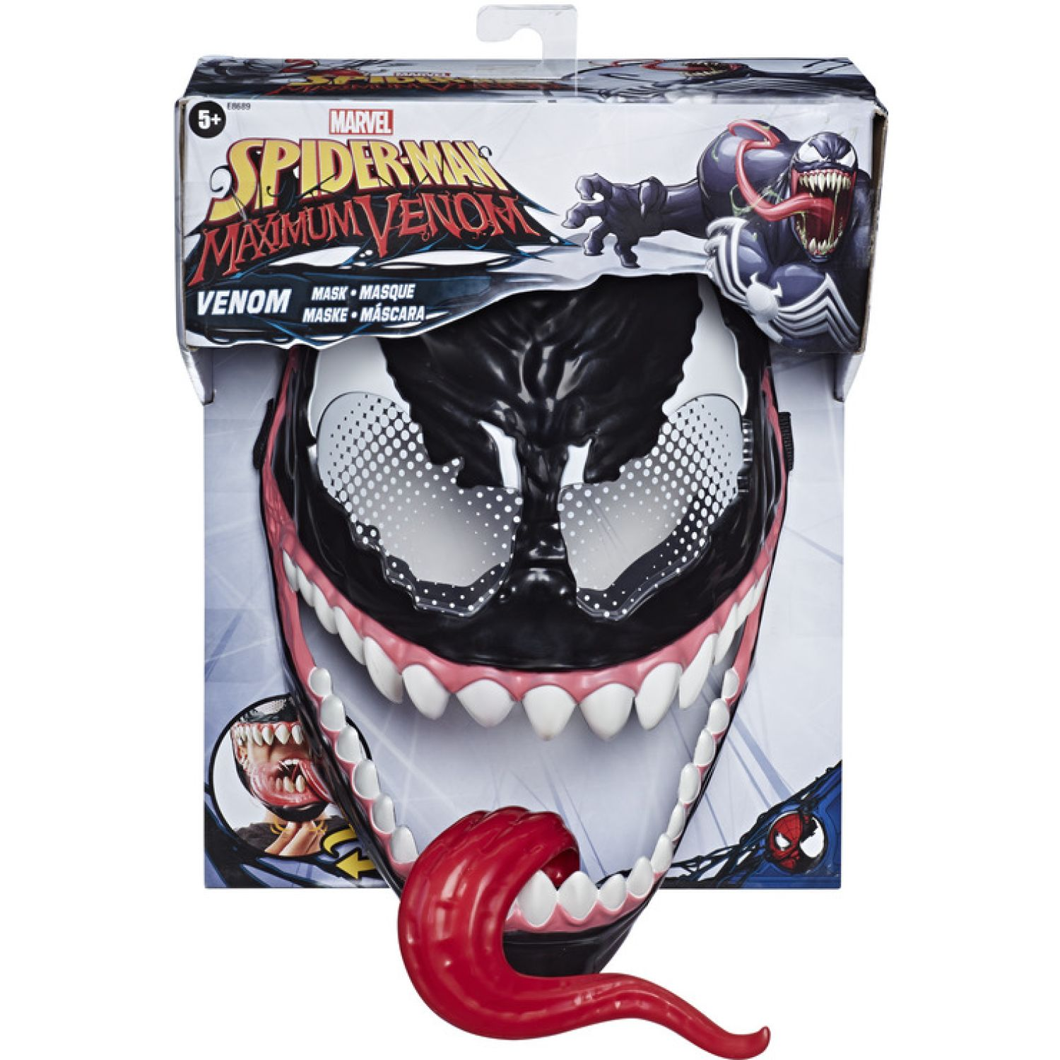 SPIDER-MAN Spd Maximum Venom Mask Varios Antifaces