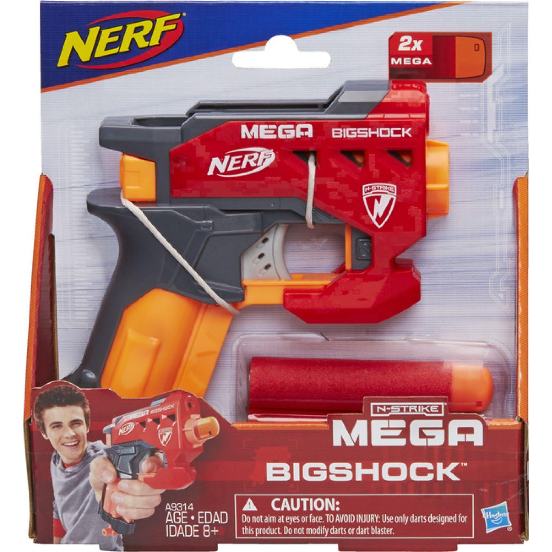 NERF NER NSTRIKE MEGA BIGSHOCK Varios Las pistolas de agua, Blasters y maduradores