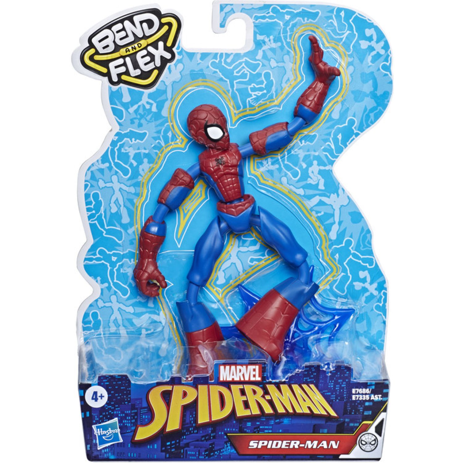 SPIDER-MAN SPD BEND AND FLEX SPIDERMAN Varios Figuras de acción