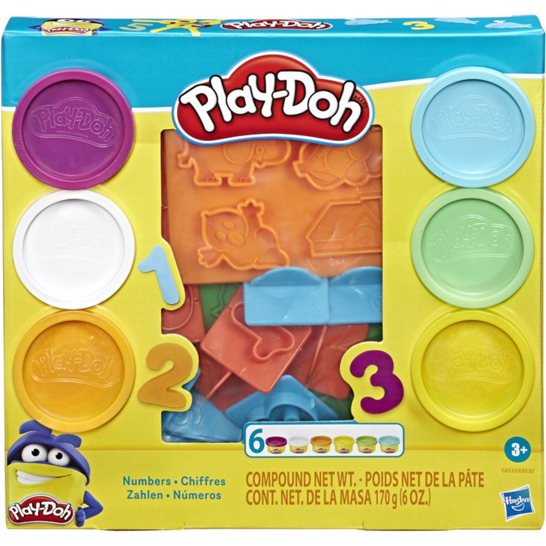 PLAY-DOH PD FUNDAMENTALS NUMBERS Varios Palitos para moldear y esculturas
