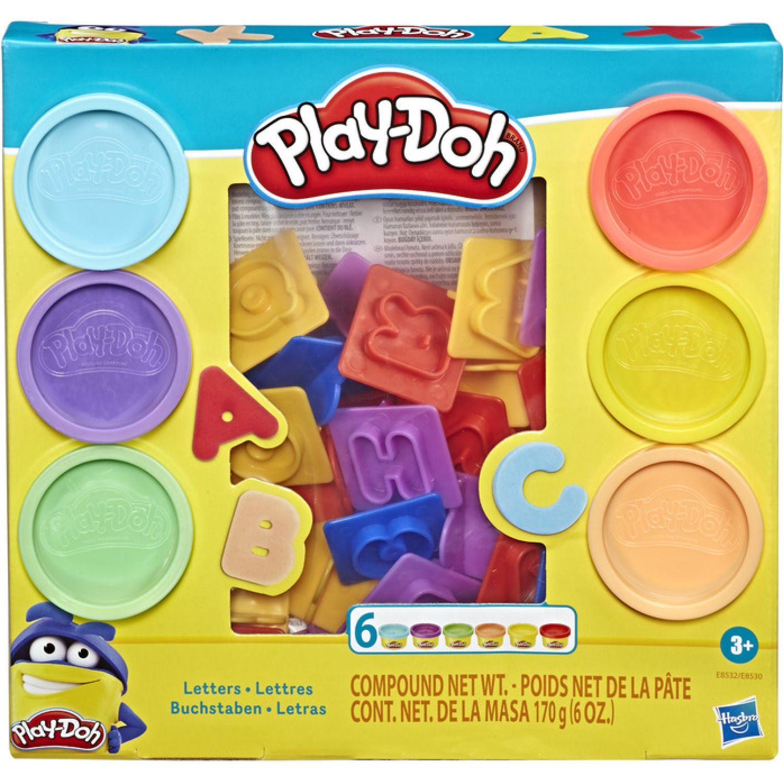 PLAY-DOH PD FUNDAMENTALS LETTERS Varios Palitos para moldear y esculturas