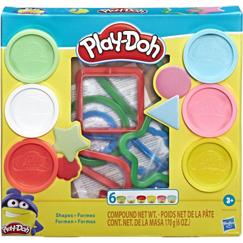 PLAY-DOH Pd Fundamentals Shapes Varios Modelado y Escultura
