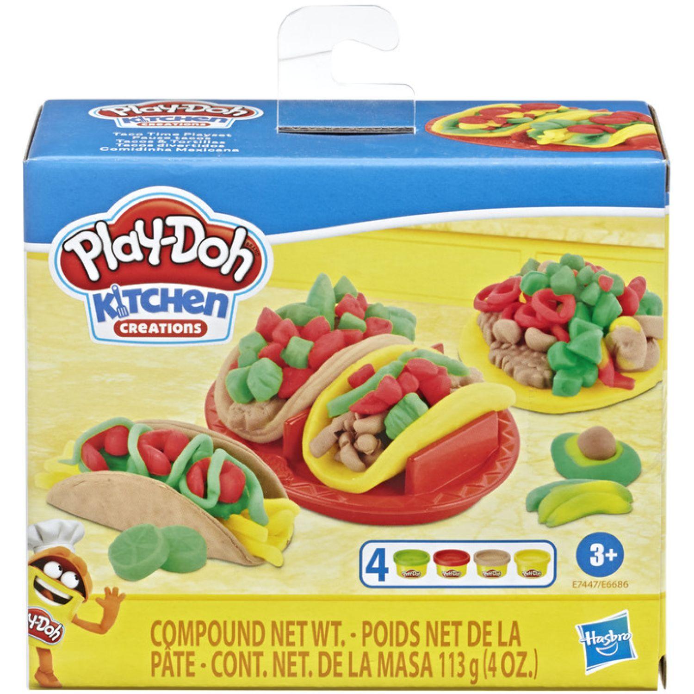 PLAY-DOH Pd Taco Time Playset Varios Modelado y Escultura