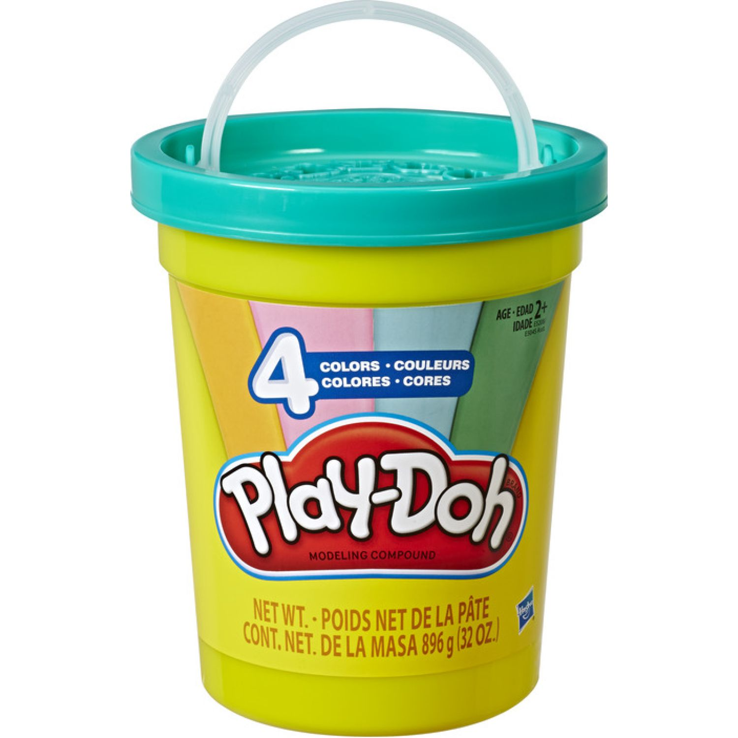 PLAY-DOH PD MODERN COLORS TUB Varios Modelado y Escultura