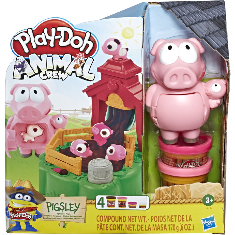 PLAY-DOH PD PIGSLEY SPLASHIN PIGS Varios Palitos para moldear y esculturas