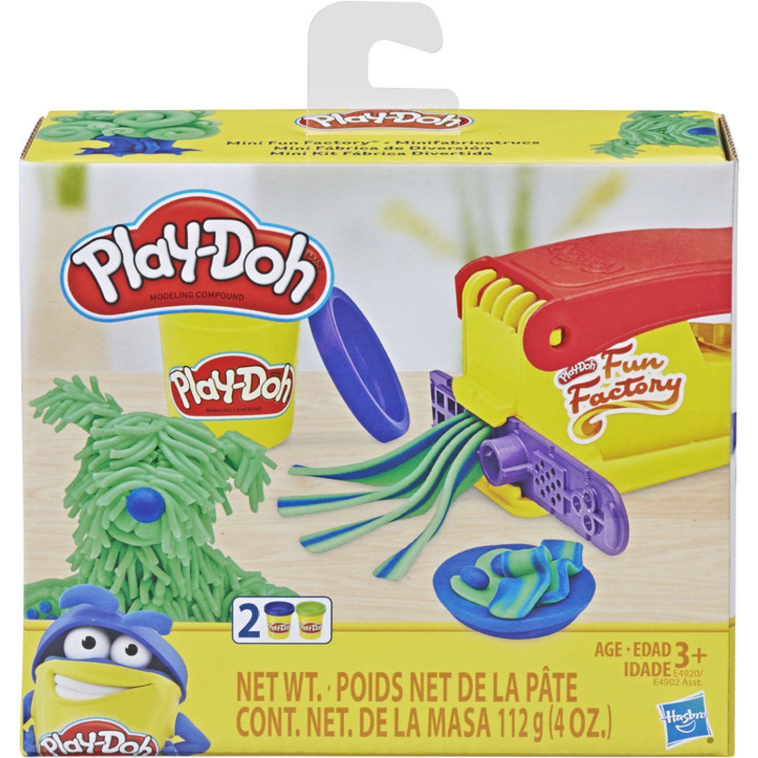 PLAY-DOH PD MINI FUN FACTORY Varios Palitos para moldear y esculturas