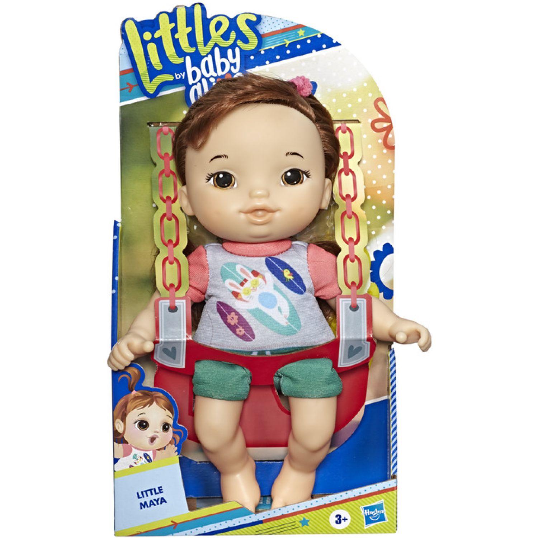BABY ALIVE Ba Ltls Squad Little Mila Brn Strt Hair Varios Muñecas