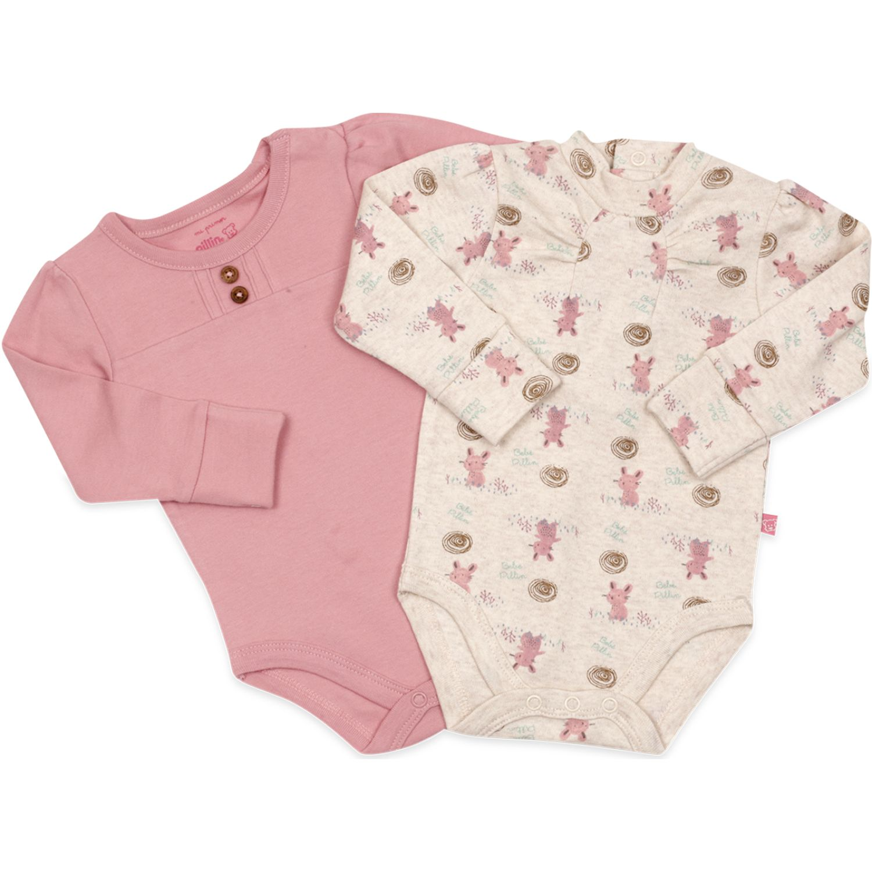 PILLIN Pack Body 2pcs Newborn Beba Varios Body