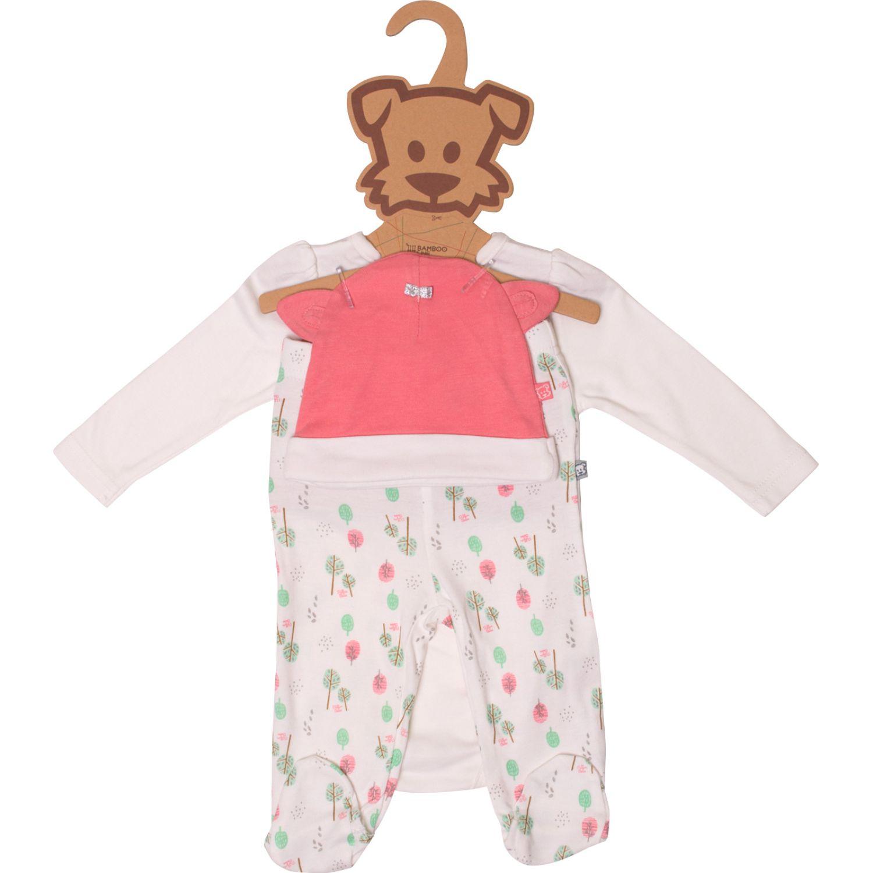 PILLIN Set 3pcs Newborn Beba Varios Juegos de Ajuar para Bebé