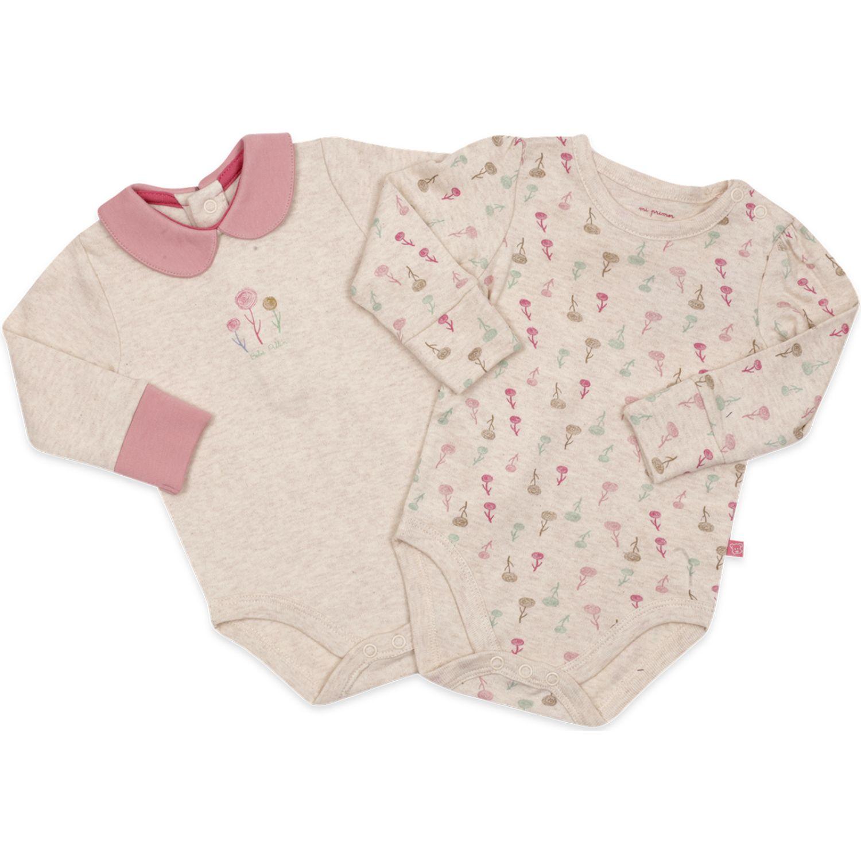 PILLIN Pack Body 2pcs Newborn Beba Varios Pañaleros