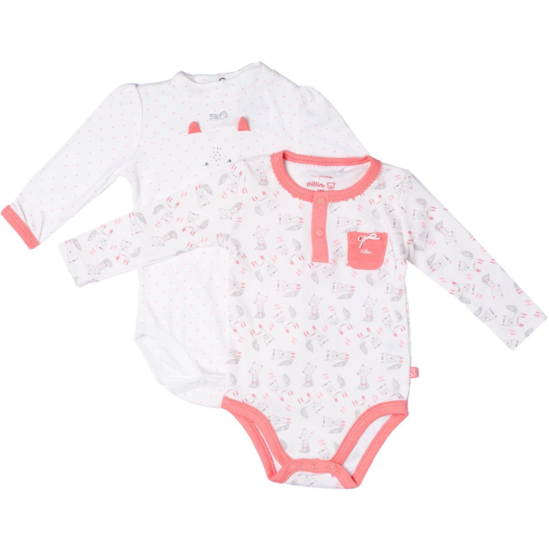 PILLIN Pack Body 2pcs Newborn Bebe Niña Varios Pañaleros