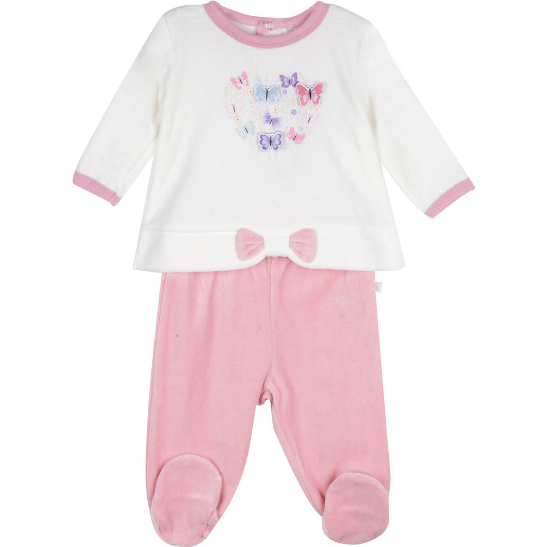 PILLIN Conjunto Plush Bebe Niña Rosado Juegos de ajuar para bebé